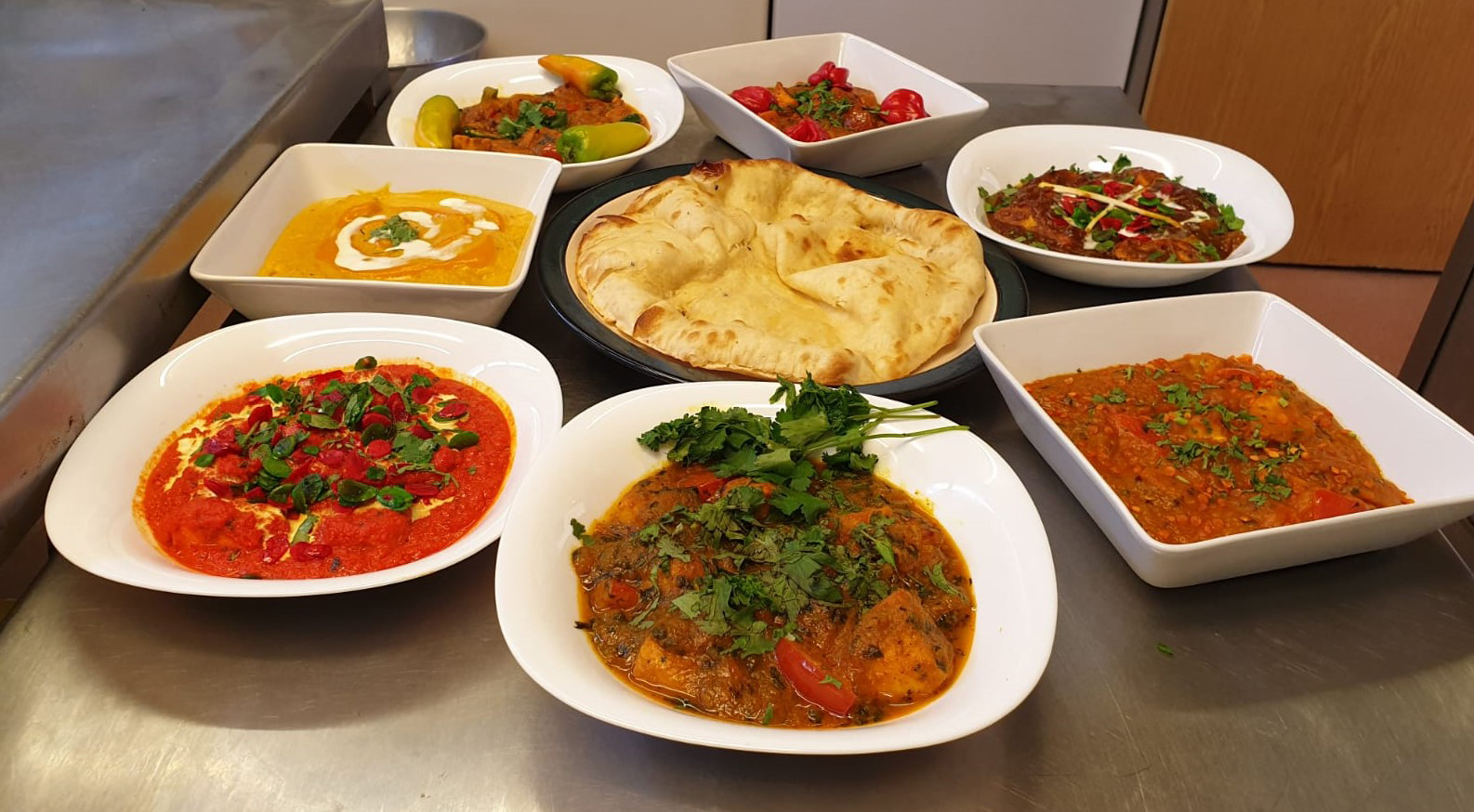 Indian food at Spice Express SN5