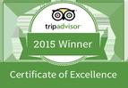 Winner Tripadvisor at Eastern Spice