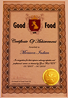 Good Food Curry Award Winner Restaurant