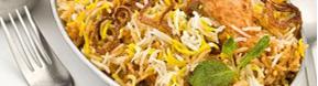 Takeaway rice Moghul Tandoori CB1