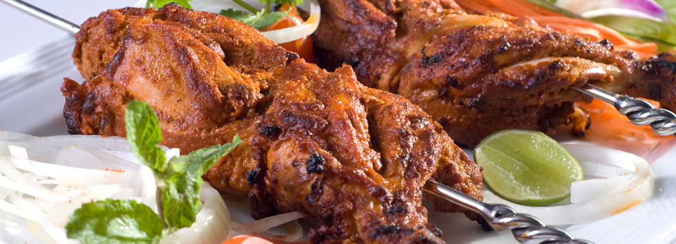 <h2 class='animated fadeInUp'>Providing Best Indian Food</h2><p class='animated fadeInDown'>In 98 Lancaster Road, Clay Hill</p>