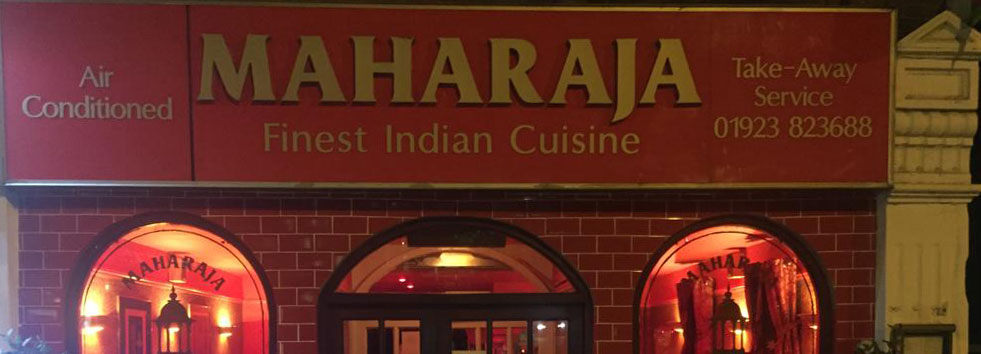 <h2 class='animated fadeInUp'>Welcome to Maharaja</h2><p class='animated fadeInDown'>Indian Restaurant and Takeaway</p>