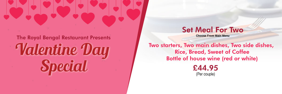 Valentine offer at Royal Bengal