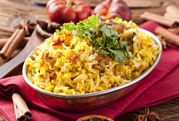 indian food at the raj tandoori ss3