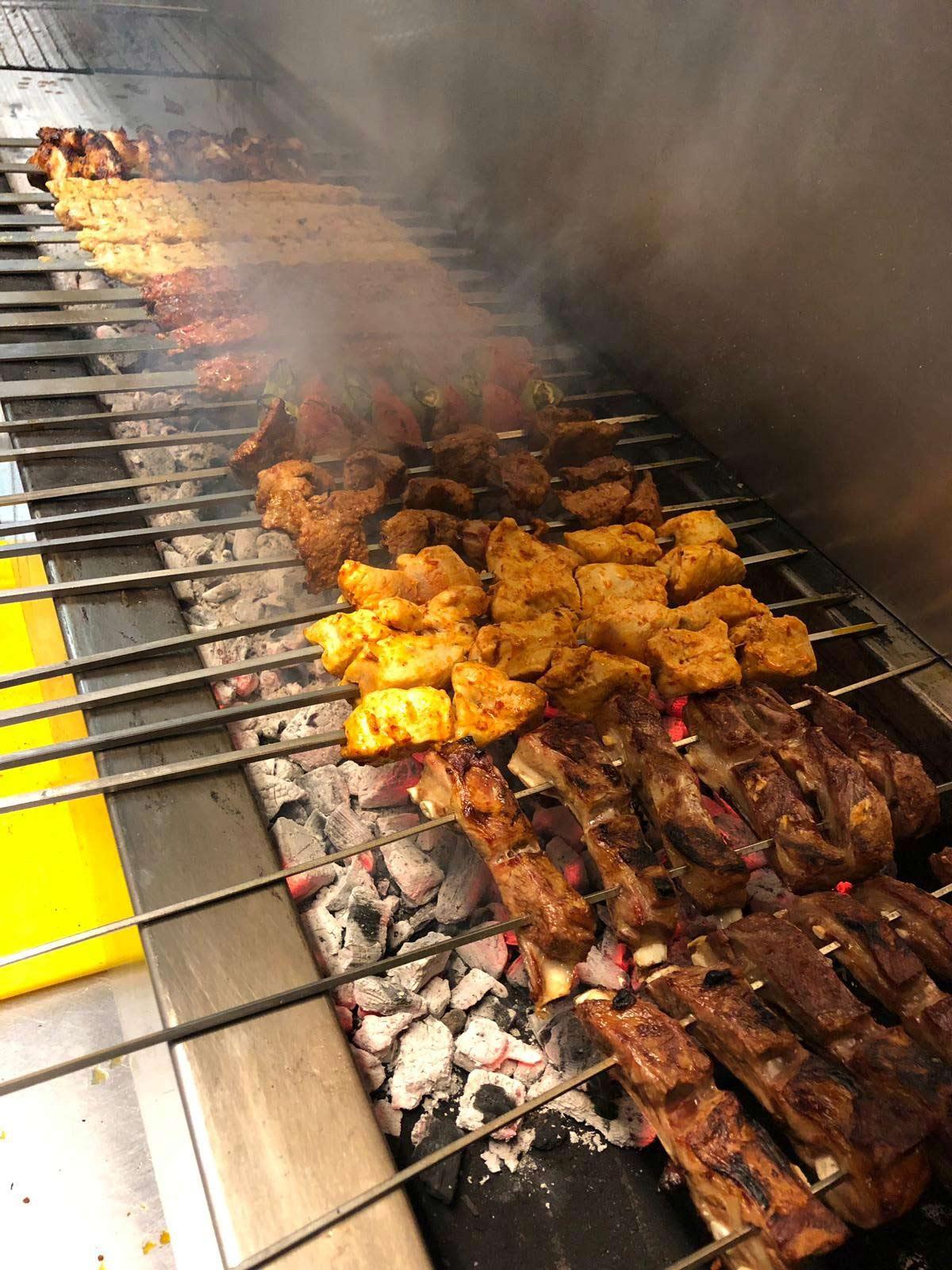turkish food at Shish Mediterranean Meze & Grill ss0