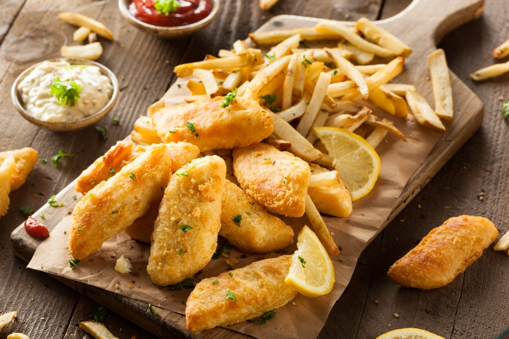 Fish & chips Restaurant and Takeaway The Bishopton 4 in 1 Takeaway PA7