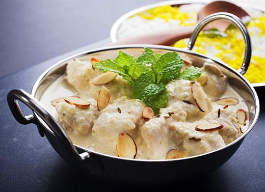 indian food at Clapham Tandoori sw4