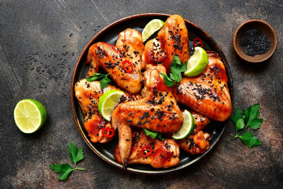 Chicken wings at Adana E2