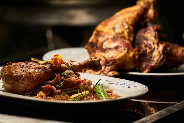 Spicy chicken at Adana E2