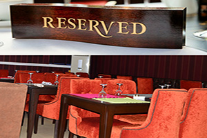 Takeaway reservation Zeera Indian Restaurant TN22