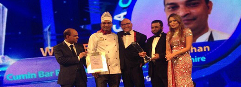 Award Cumin Bar and Restaurant EN10