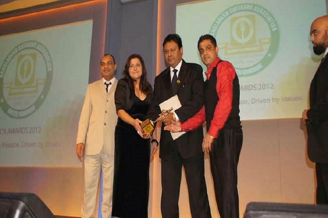 Awards Cumin Bar and Restaurant EN10