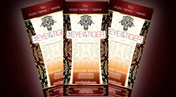 Takeaway menu Eye of The Tiger BH1
