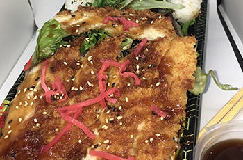 Takeaway Free Chicken Katsu salad On Orders Over £30 Sushi Japanese SE12