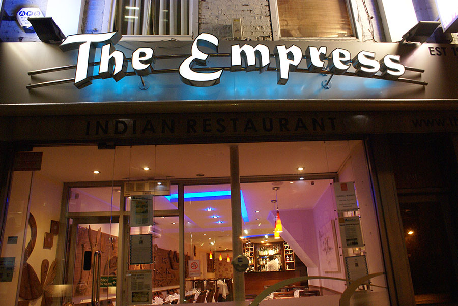Restaurant and Takeaway Empress Indian Restaurant E1