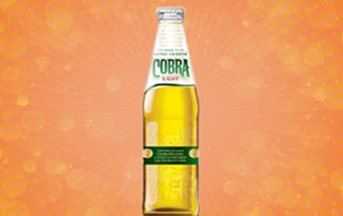 Free Bottle Of Cobra Beer Green Spice DA2