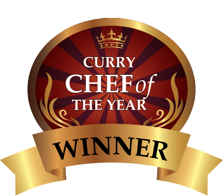 Takeaway Chef of the year award curry world At SE12