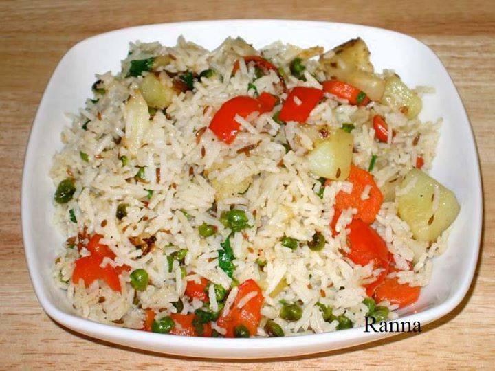 Sher E Bangla Vegetable Rice DA3