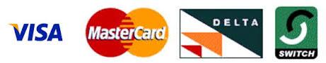 We accept all major cards Ladies Mile Tandoori Takeaway BN1
