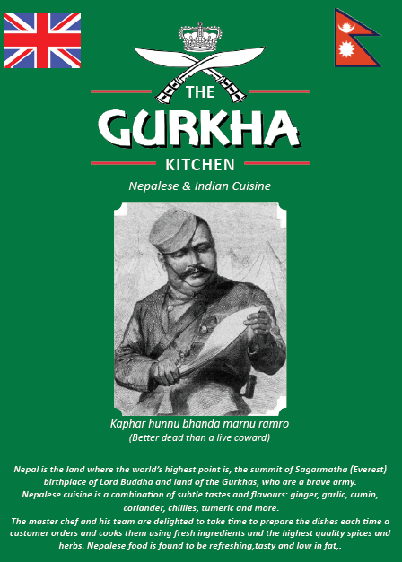 menu the gurkha kitchen me16
