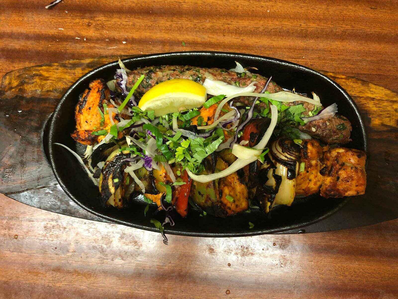 35. Indian Food at Khan Restaurant KT17