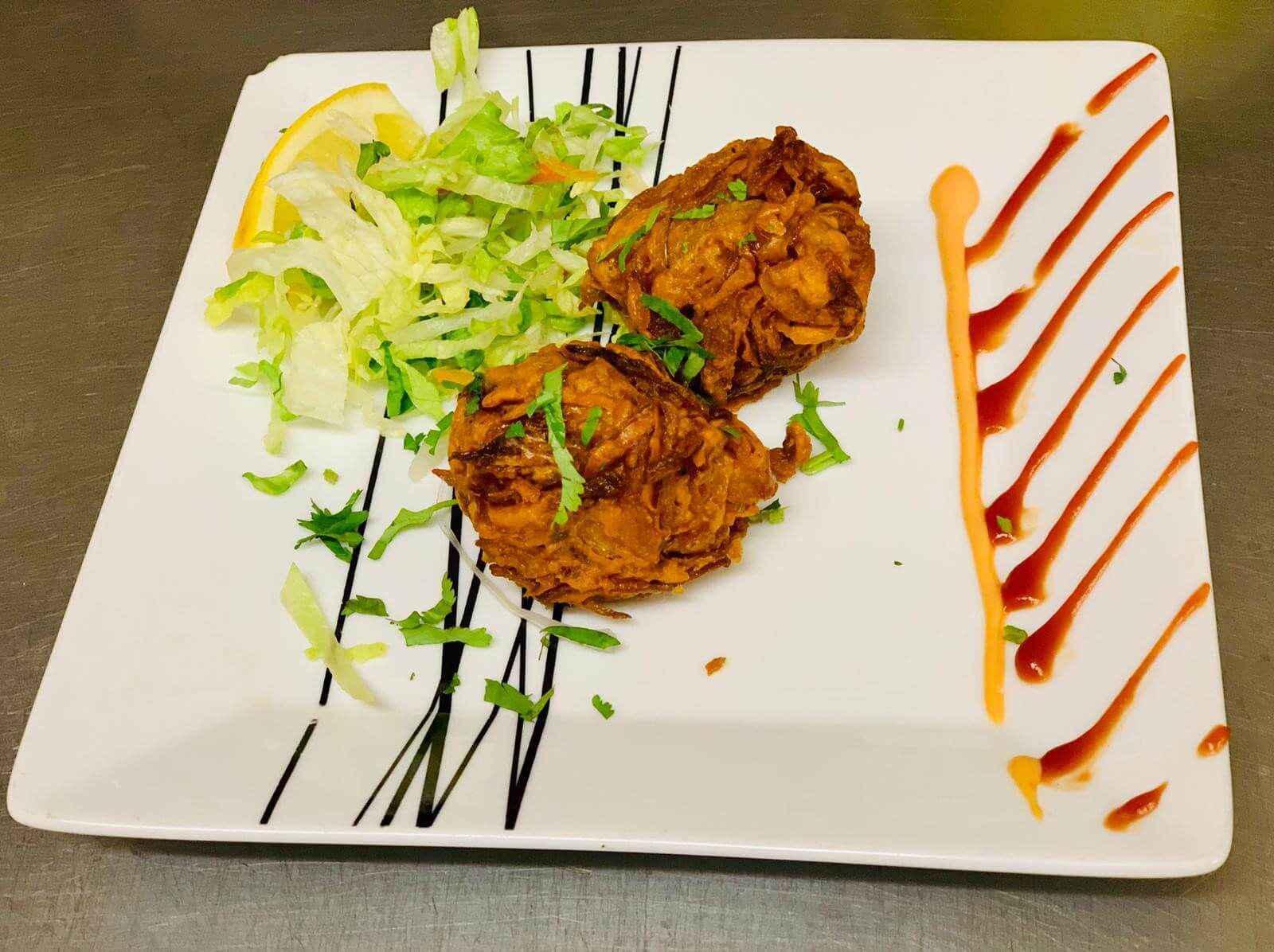 25. Indian Food at Khan Restaurant KT17