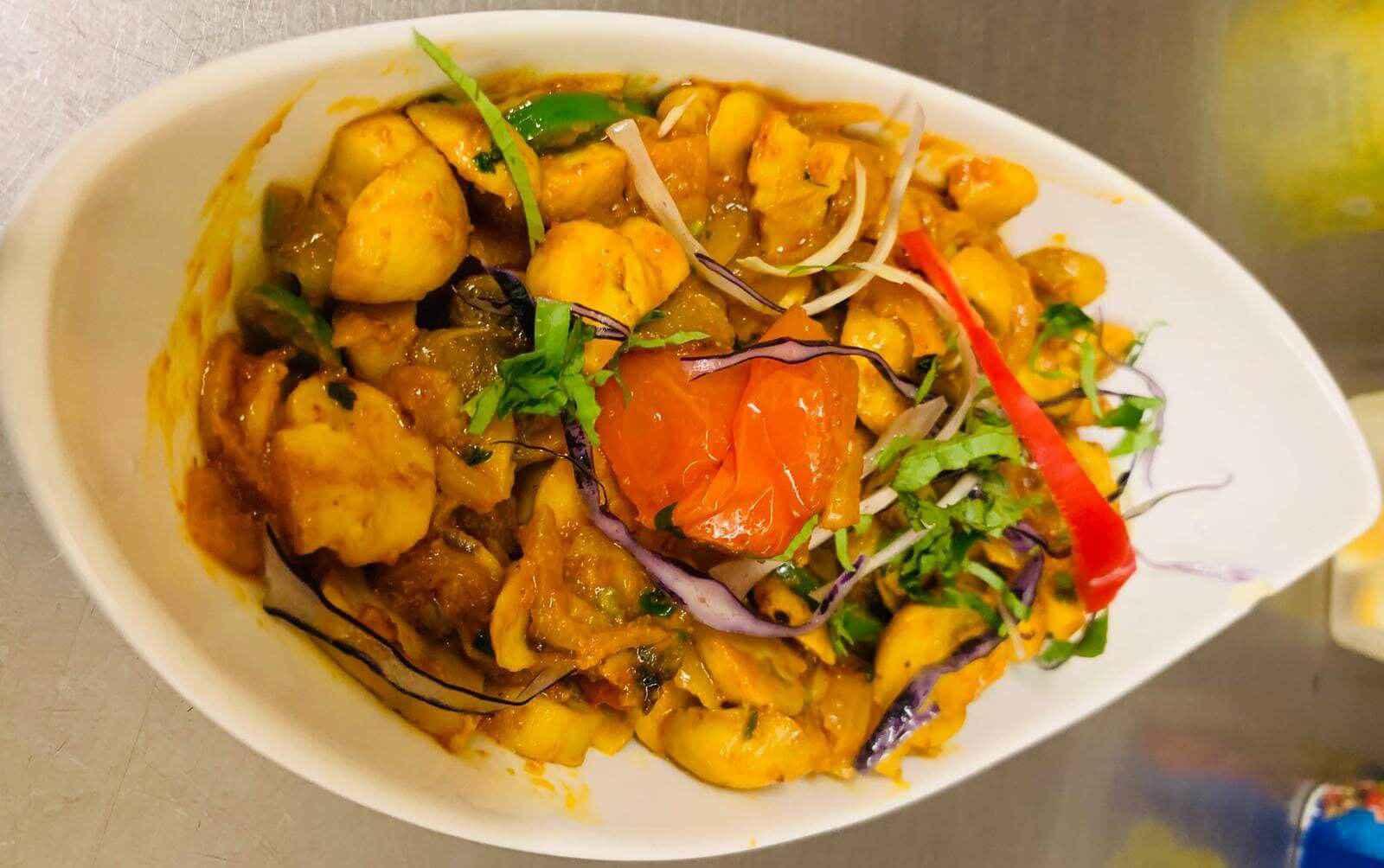 33. Indian Food at Khan Restaurant KT17