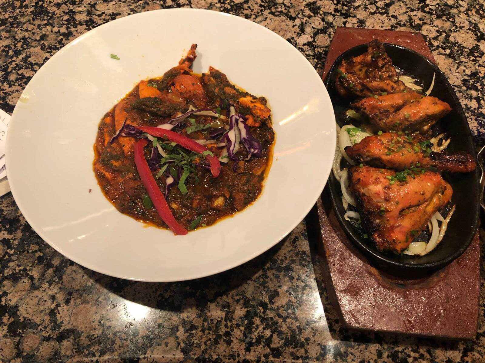30. Indian Food at Khan Restaurant KT17