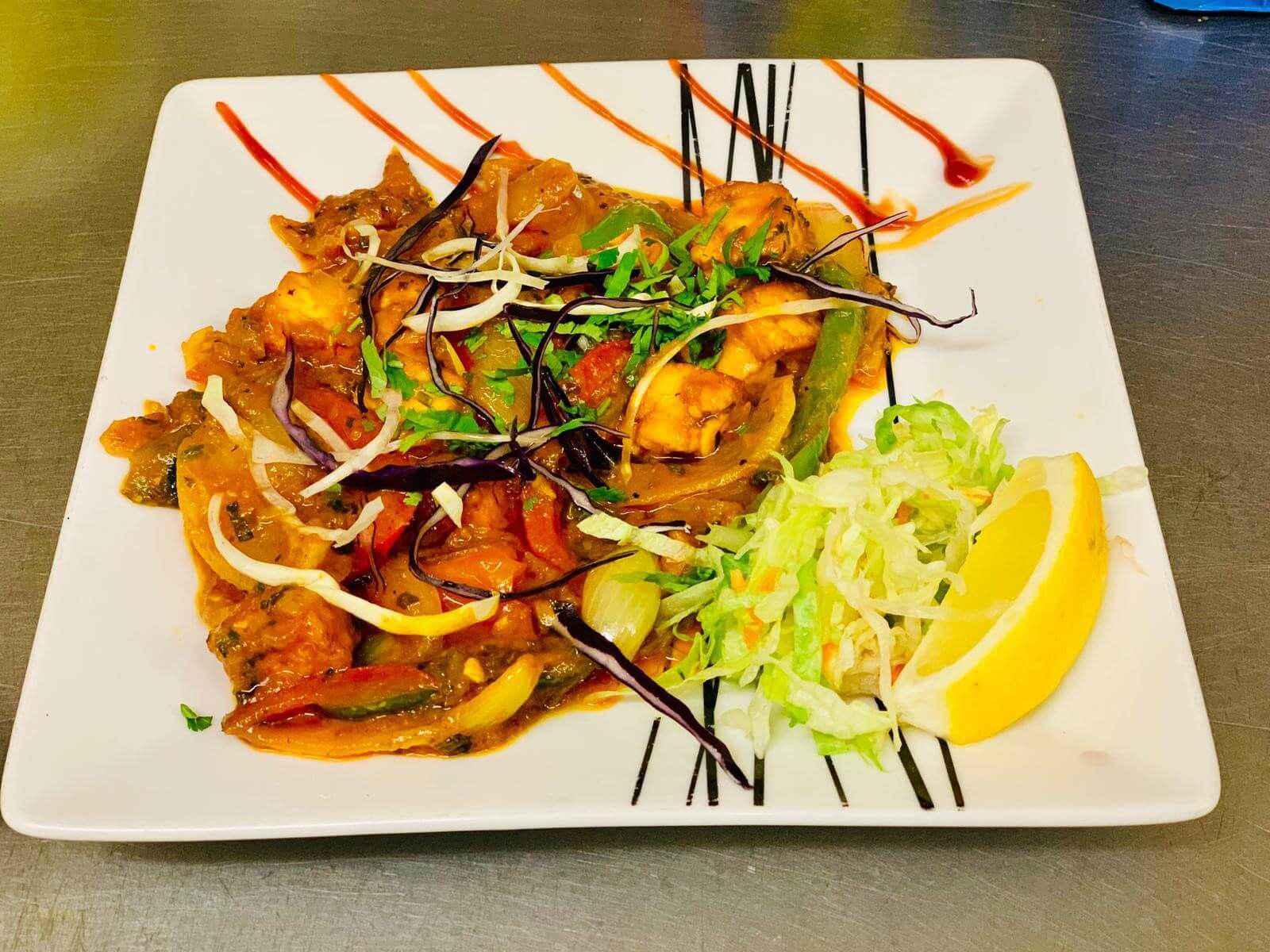 27. Indian Food at Khan Restaurant KT17