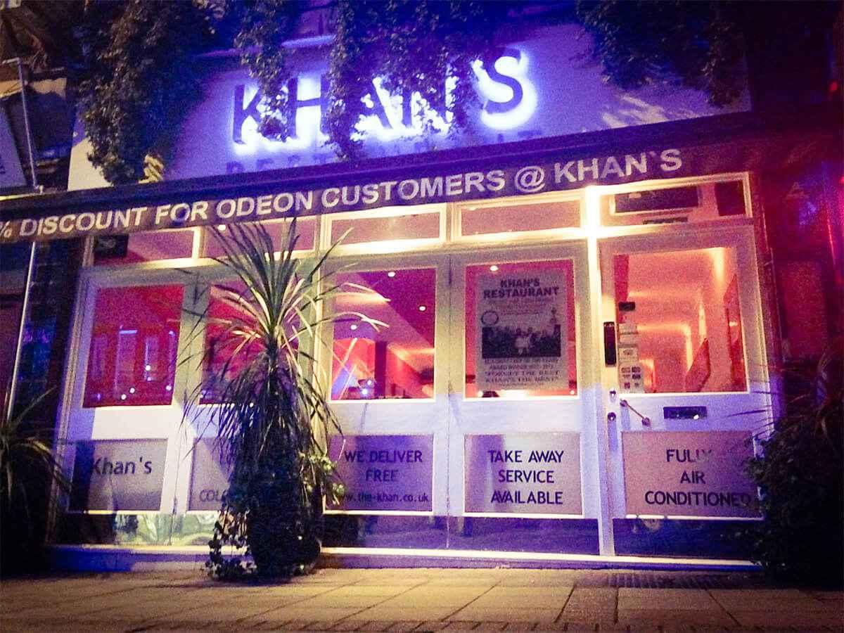 41. Restaurant & Khan Restaurant KT17