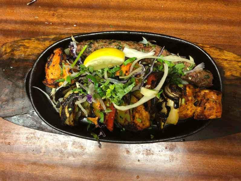 38. Indian food at khans restaurant battersea sw11