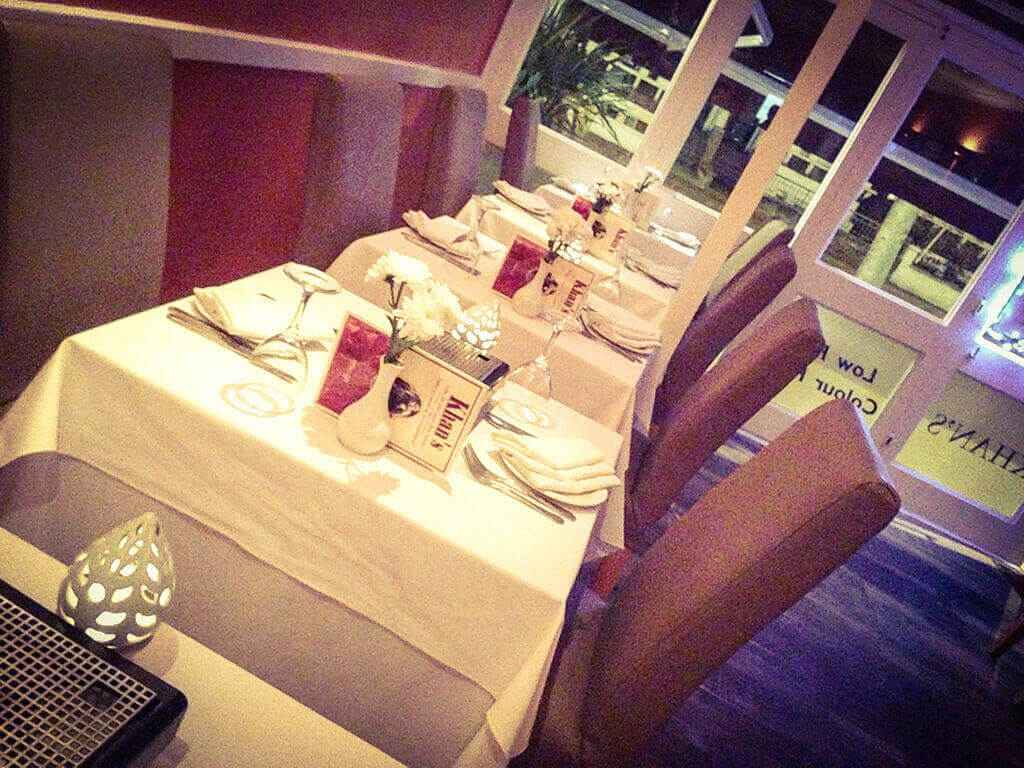 41. Reservation khans restaurant battersea sw11