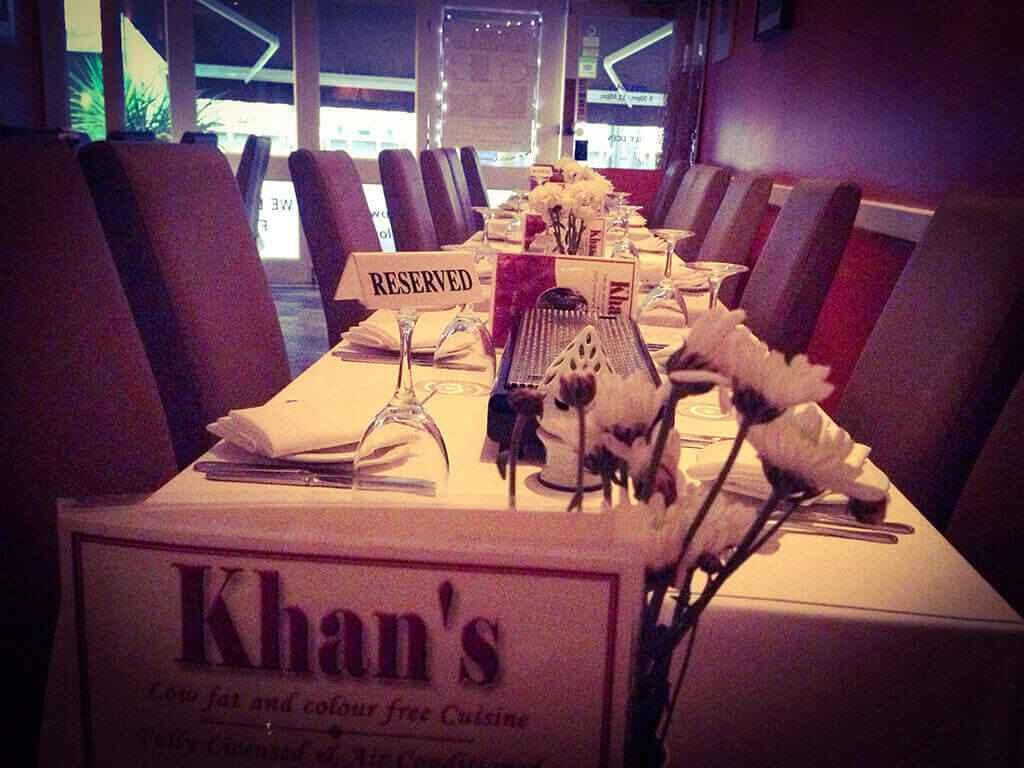 40. Reservation khans restaurant battersea sw11