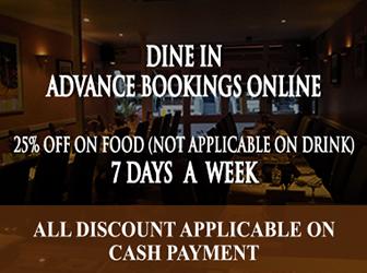 Reservation khans restaurant battersea sw11