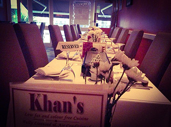 Reservation khans restaurant battersea sw11