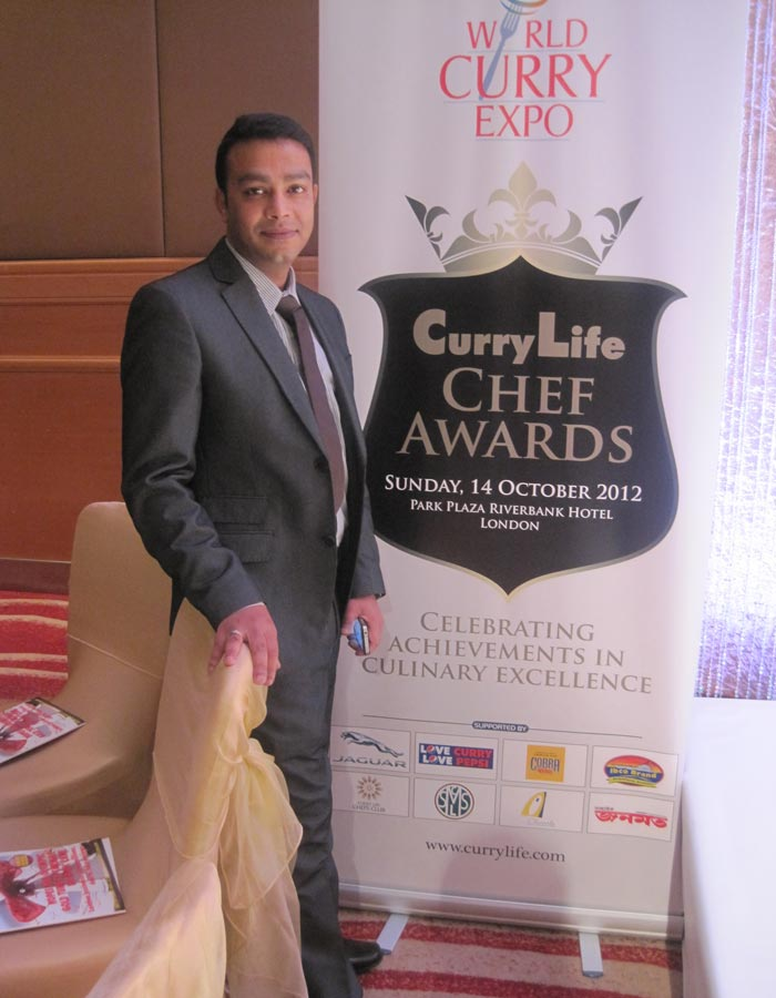 Shikha Indian Takeaway curry chef awards IG9