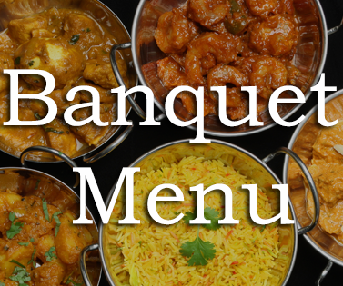 Takeaway banquet menu at rumana indian cuisine ne5
