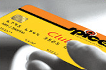 club card at Spices se15