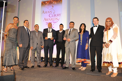 Awards Takeaway Maharani Indian Restaurant DA15
