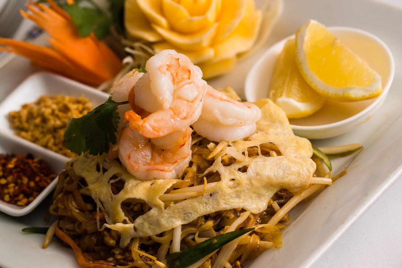 thai food at thaii fusion me10