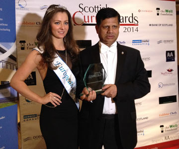 Scottish Awards Britannia Spice At EH6