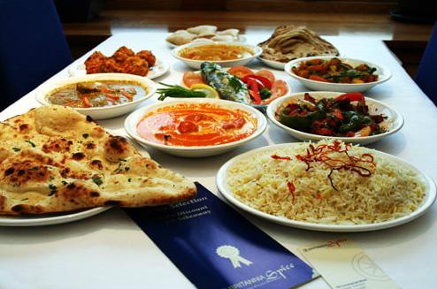 tapass style indian menu at Britannia Spice eh6