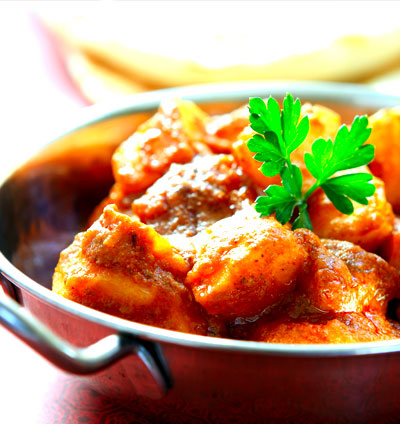 Free bombay aloo offer at belash indian cuisine bh22