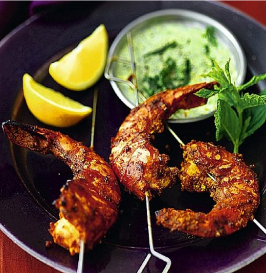 Tandoori king prawn Takeaway Bengal Indian Cuisine N8
