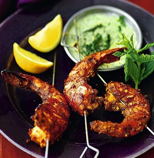 Tandoori king prawn Takeaway Bengal Indian Cuisine N8