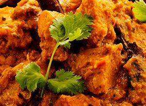 indian food at Kasturi Indian Restaurant cf24