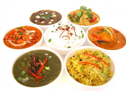 Set Menu Spices Indian Takeaway GL51