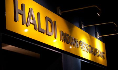 Banner at haldi restaurant rh13