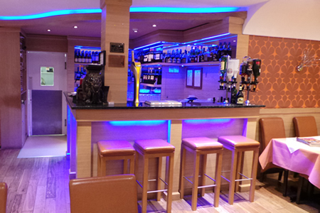 Bar at haldi restaurant rh13