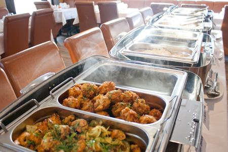 Buffet at haldi restaurant rh13